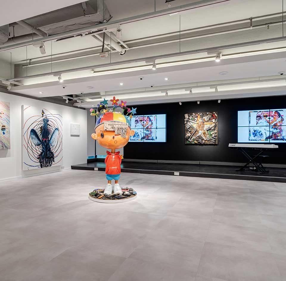 Mago Gallery HK Exhibition