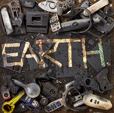 Heart on the earth